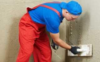 Внутренняя штукатурка стен из газобетона: как подобрать и нанести раствор