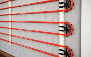 Отопление в стене: как сделать правильно