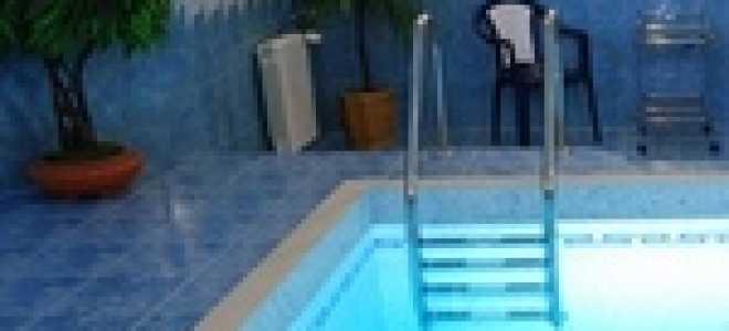 Материал для облицовки бассейна в загородном доме