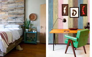 Отделка квартир деревянными панелями: идеи интерьера