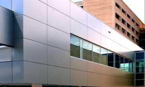 Облицовка композитными панелями: современные фасады