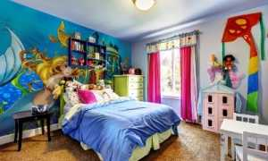 Подбираем 3d обои для детской комнаты