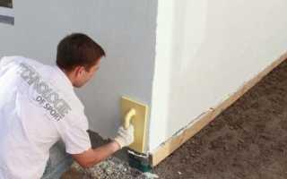 Штукатурка стен цементным раствором по технологии