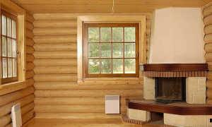 Отделка внутренняя блок хаусом: правила выполнения работ