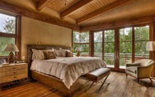 Дома из клееного бруса: внутренняя отделка и ее особенности