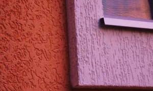 Покраска штукатурки Короед – все способы