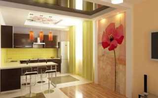 Как оформить стену на кухне: выбираем материалы