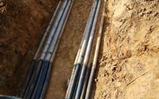 Прокладка кабеля в трубах: виды и особенности труб, технология монтажа