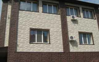 Облицовочная панель под кирпич: современная отделка фасадов