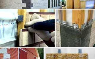Как отделать эркерный угол закладной фасадной плиткой?