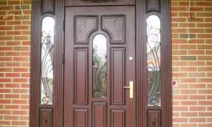 Отделка металлических дверей своими силами