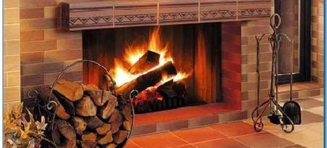 Облицовка камина плиткой – делаем правильно