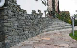 Облицовка фундамента искусственным камнем: характеристика и особенности установки
